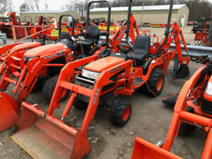 Kubota BX23 Tractor, Loader, Backhoe