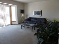 Fully Furnished 2 Bedroom Apartment in West-End Ptbo , March 1st
