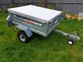 Erde 122 Lightweight Tipping Camping Trailer With Cover