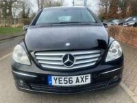 2006 Mercedes-Benz B180 2.0 SE CVT Black Hatchback Diesel Automatic