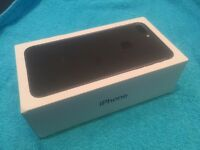 IPhone 7 Plus 256gb Matte Black. Brand New on O2