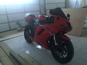 2007 Kawasaki ninja ZX6 swap or trade