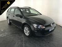 2014 VOLKSWAGEN GOLF SE BLUEMOTION TDI ESTATE 1 OWNER SERVICE HISTORY FINANCE PX