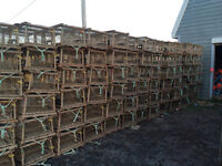 lobster traps in excellent condition