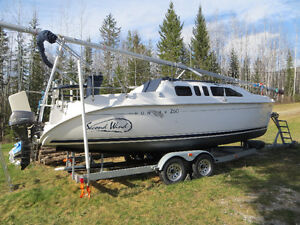 buy or sell used or new sailboat in alberta boats for hunter 260 sailboat trailer