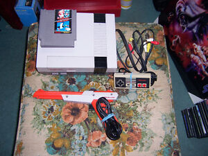FOR SALE REG NINTENDO ONE GAME ALL ASC $75.