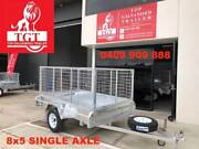 8x5 SINGLE AXLE, FULLY WELDED HOT DIP GALVANISED TRAILER Doreen Nillumbik Area Preview