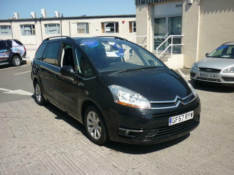 2008 citroen c4 picasso 1 6hdi 110hp egs exclusive 7 seater finance availabl in plymouth. Black Bedroom Furniture Sets. Home Design Ideas