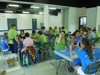 Atelier de loisirs créatifs pour groupe