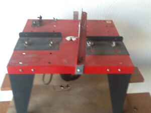 Router Table and Sears Router