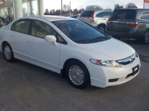 F.S. 2009 Honda Civic Hybrid with Navigation.