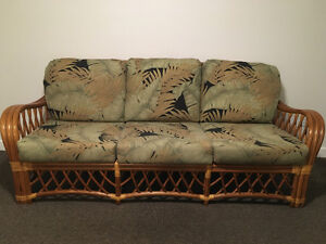 BOCA RATTAN SOFA GREAT DEAL