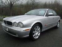 05/54 JAGUAR XJ8 SPORT 3.6 AUTO 4DR IN MET SILVER WITH ONLY 70,000 MILES