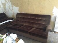 Retro Vintage Parker Knoll 3 seater sofa