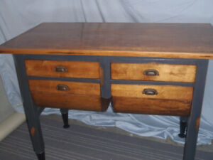 Antique Possum Belly / Hoosier Kitchen Island