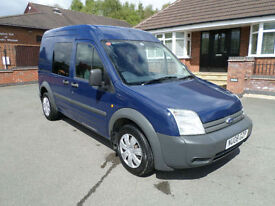 2008 Ford Transit Connect 1.8TDCi, 90PS, High Roof Crew Van, Euro IV T230 LWB LX