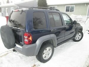 2006 Jeep Liberty 4x4, WINTER TIRES!