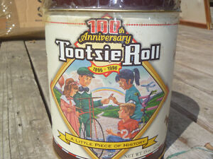 Tootsie Roll ..limited edition tin