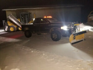 Snow plowing in lappe kam area