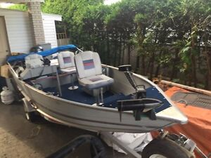 PrinceCraft Boat with trailer