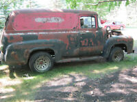 1956 Ford Panel Truck Project