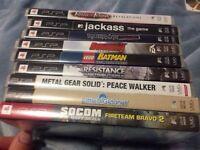 11 psp games for sale