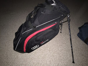 Brand New Taylormade-Audi Quattro Golf Bag
