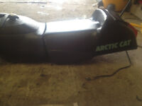 Arctic Cat Zrt / Zr Seat and Tank in New shape