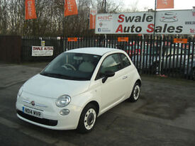 2014 FIAT 500 POP 1.2L ONLY 14,699 MILES 1 OWNER FROM NEW, FULL SERVICE HISTORY