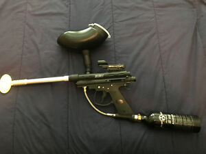 Brass Eagle Eradicator Paintball gun and CO2 canister plus more Comox / Courtenay / Cumberland Comox Valley Area image 2