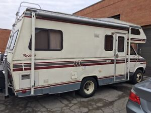 1986 Regency 20ft RV $3400 or trade for mini van