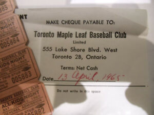 Collectible Sports Tickets