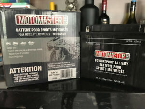 Brand New MotoMaster Powersport Battery