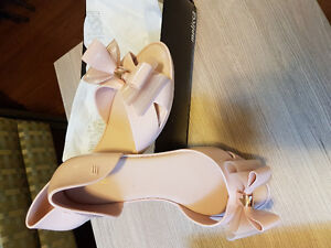 MELISSA BRAND NEW WITH TAGS BOW TIE JELLY SHOES