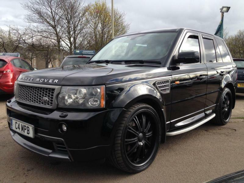 2007 land rover range rover sport 4 2 v8 supercharged automatic hst kit leather in leicester. Black Bedroom Furniture Sets. Home Design Ideas