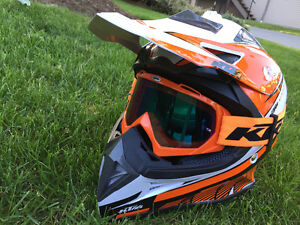 Brand New KTM Dirt Bike Helmet XL