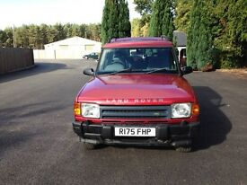 Land Rover Discovery Genuine Low Miles