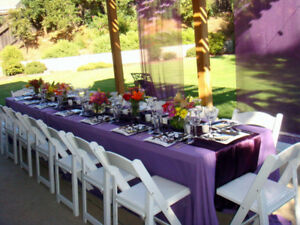 EVENT RENTALS & RESTAURANT EQUIPMENT- Tents, Chairs, Table