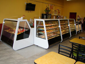 Full line of display cases, pastry bakery gelato deli meat fish Moose Jaw Regina Area image 3