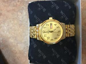 Bulova Men's Watch (Brand New)
