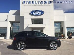 """2013 Ford Edge """"SPORT AWD LEATHER/MOON""""   - $244.96 B/W  - Low M"""