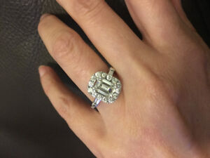 One of a kind 2.02 diamond engagement ring $7900
