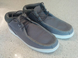 Timberland Mens Boots - Grey Canvas - size 11
