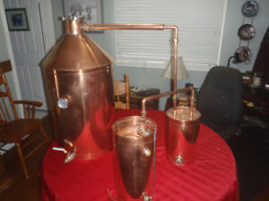 still copper 20 gallon essential oils distiller water extracts