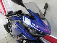 YAMAHA YZF-R3 ABS 320cc A2 LICENCE COMPATIBLE SUPER SPORTS BIKE. NEW, 0 MILES...