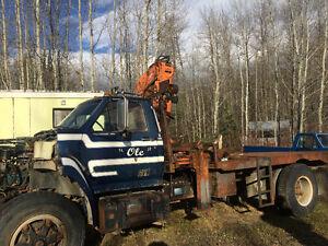 1986Ford F700 SA Boom Truck Prince George British Columbia image 3