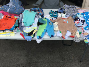Baby boy clothes and toys —Garage Sale—