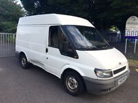 FORD TRANSIT SWB HIGH TOP T280 2.0 2003 WITH MOT LOW MILES EXCELLENT RUNNER, 100% RELIABLE