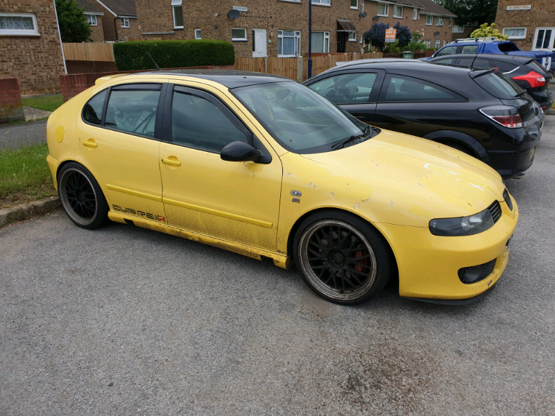 Breaking Seat Leon Mk1 Cupra R Bam 225 Modified Yellow Parts Only In Maidstone Kent Gumtree