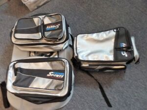 OXFORD SPORT SPORTBIKE SADDLEBAGS AND TANK BAG